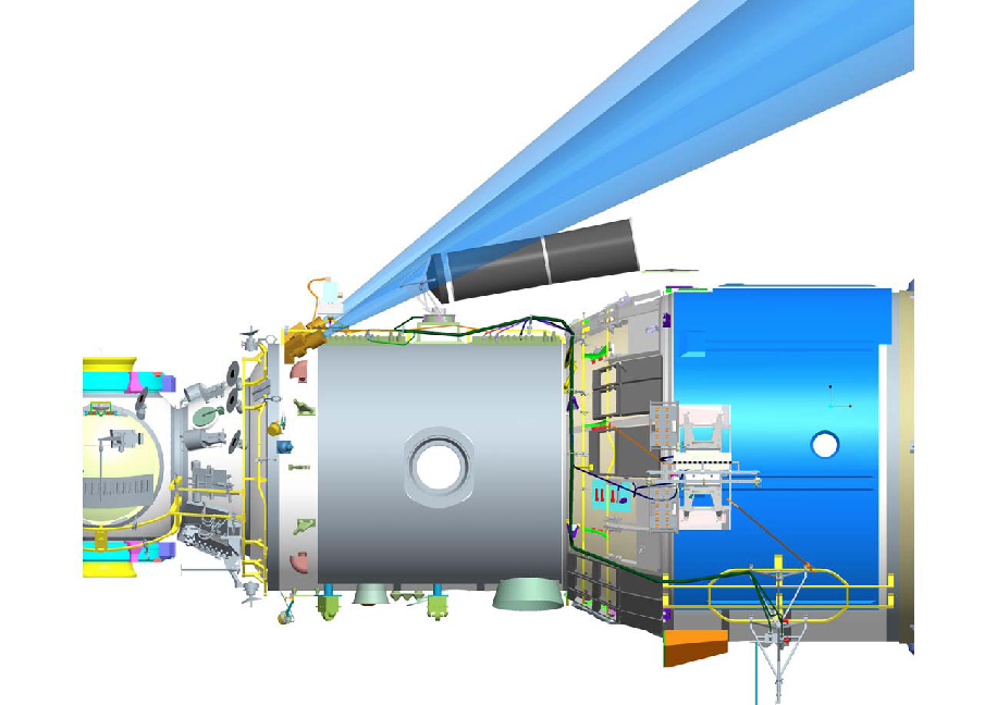 Положение телескопа